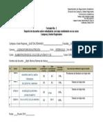 Formato 1 REPORTE Estudiantes Con Bajo Rendimiento 2014