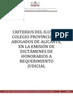 Honorarios Abogados Alicante