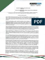 Decreto NO 1OO.D-055 DE 2014 Junio 27
