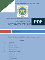 Mecánica de Suelos II _ Resistencia al esfuerzo cortante de los suelos.pdf