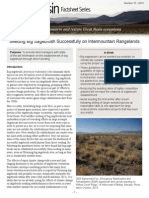 Seeding big sagebrush successfully on Intermountain rangelands
