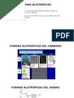 04 Formas Alotrópicas Fe y C