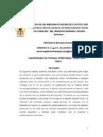 Inextenso de Picadora de Plástico 11112014 COBAIND-UPT