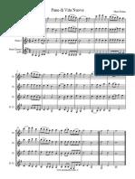 Pane Di Vita Nuova - Marco Frisina - Flute trio + bass clarinet arr.