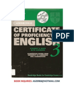 Certificate of Proficiency in English 3