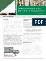 Littelfuse PGR8800 Arc Flash Case Study PF350-SP
