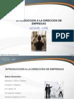 Curso Introduccion a La Direccion de Empresas(Avance1)