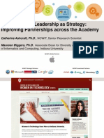 Diversifying IT Leadership as Strategy