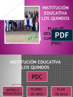Plan de Desarrollo Curricular