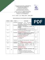 Cronograma de Diseño de Plantas I-2014.docx
