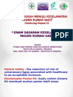 Patient Safety-Kuliah Blok 4.2- FK Unand- 7 Langkah