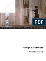 Annette Insdorf - Philip Kaufman (Contemporary Film Directors)