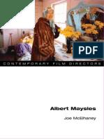 Joe Mcelhaney - Albert Maysles (Contemporary Film Directors)