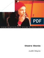 Judith Mayne - Claire Denis (Contemporary Film Directors)