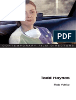 Rob White - Todd Haynes (Contemporary Film Directors)