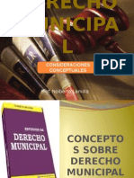Tema 1, Conceptos Preliminares Del Derecho Municipal[1]