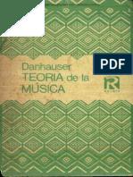 Teoría de La Música - (Danhauser)