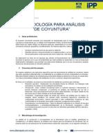 ALIANZA PAIS Metodologia Para Analisis de Coyuntura