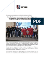NP Resultados Concurso Latinoamericano de Robótica