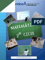 LIBRO- MATEMÁTICA 2°CICLO-2015-Mendoza