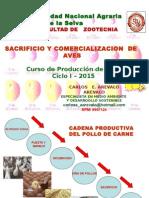Aves 2015 Sacrificio y Comerc.