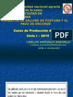 Aves 2015 Ciclo II (Postura y Pavos)