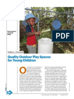quality outdoor play spaces wright