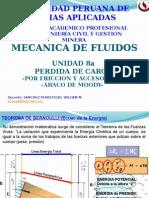 MECANICA DE FLUIDOS I PERDIDA DE CARGA