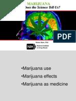 Dr. Baler Presentation Marijuana July2015