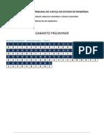 Tjro Gabarito Preliminar Gdf6gdf465g4df65g4df5g