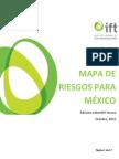 Mapa de Riesgos 2015 para México