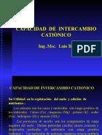 Tema 06 - Capacidad Del Intercambio Catónico