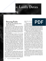 Fading Suns - Lordly Duties & Dueling