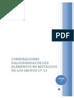 Tema 9 - Combinaciones Halogenadas de ENM de Los Grupos 17 - 13.Doc