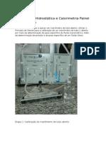 Relatório de Hidrostática e Calorimetria Painel Manométrico Ev