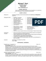 Jobswire.com Resume of mburt5