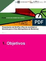 Plan de Movilidad en Bicicleta para el Área Metropolitana de Monterrey (BICIPLAN)