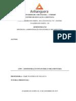 Atps - Administração Financeira e Orçamentária