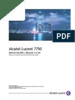 7750 SR Triple Play Service Delivery Architecture Guide R13.0.R4