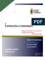 TERMO ALI231-1 Clase 2 - Introducción 08032012