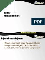 [Materi] Pert 12 - Bab 13 Rencana Bisnis