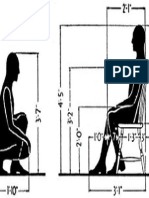 Sitting Mode Dimensions