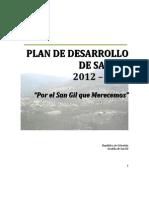 Acuerdo Plan de Desarrollo San Gil 2012-2015