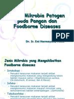 Jenis Mikrobia Patogen Pada Pangan Dan Foodborne Diseases