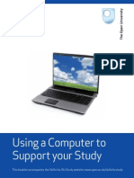 Using a Computer to Support Your Study