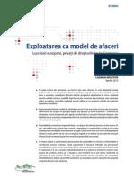 Brosura Exploatarea CA Model de Afaceri
