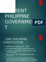 Current Philippine Government
