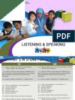 4. Listening & Speaking Year 6 KSSR ENGLISH 2015