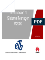 (1)IManager M2000 System Overview