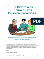 The Best Approach for Advisors